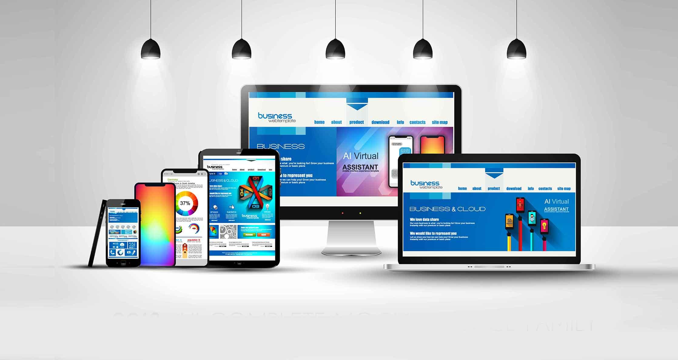 Diseño de Paginas web adaptadas a todos los dispositivos