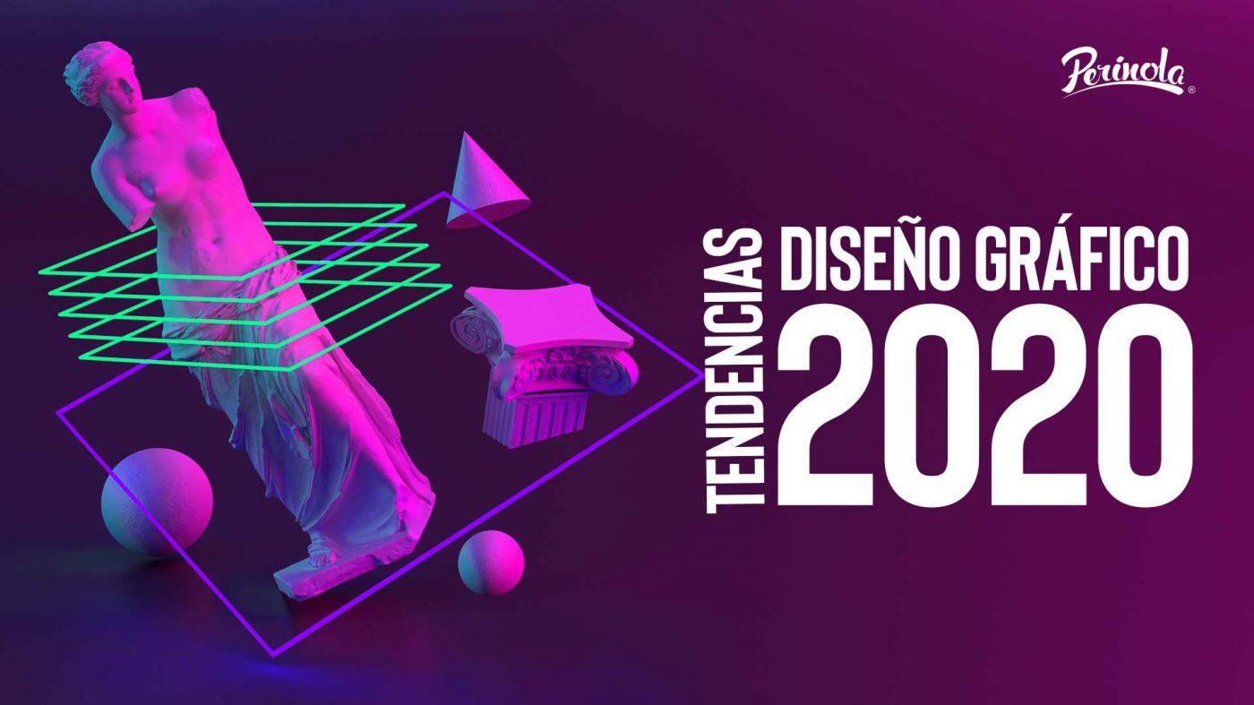 Tendencias de diseño gráfico 2020