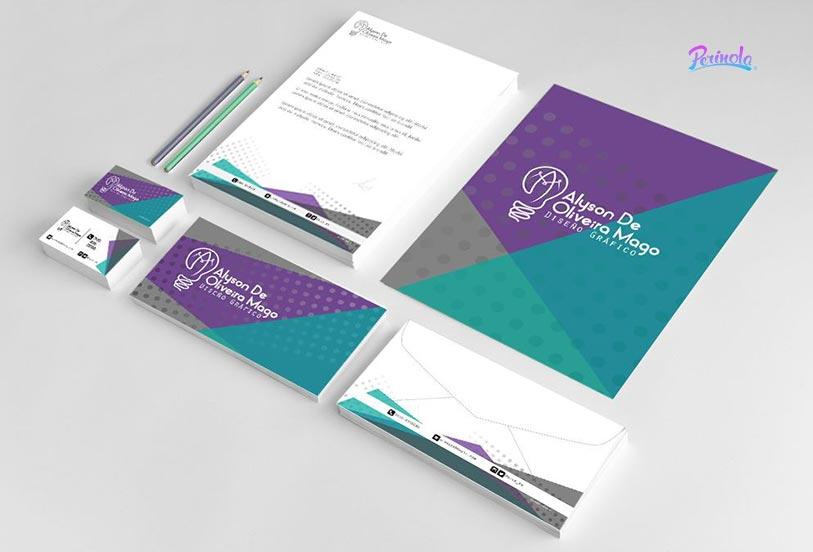 Diseño de papeleria corporativa