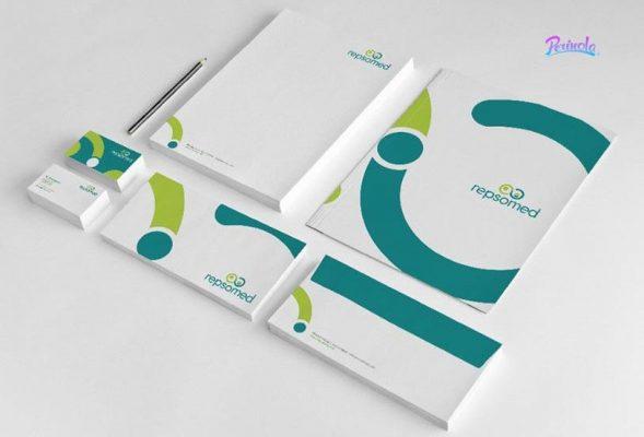 Diseño de identidad corporativa para envíos y encomiendas