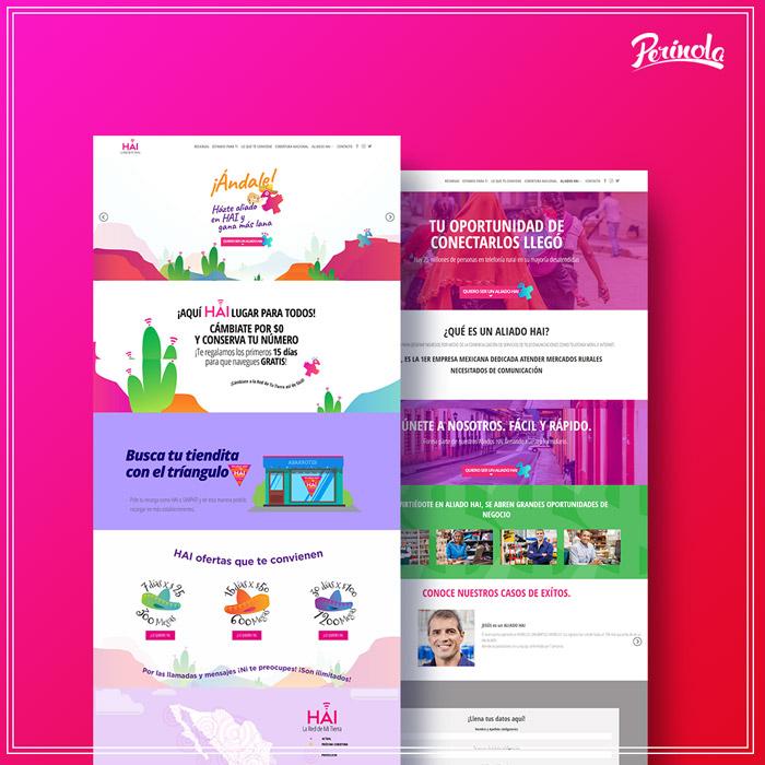 Diseño de pagina web para empresa de servicios telefonicos en mexico